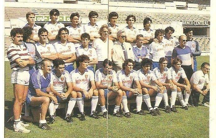 Trideporte 84. Plantilla Real Zaragoza (Real Zaragoza). Editorial Fher.