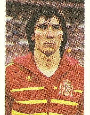 Eurocopa 1984. Carrasco (España) Editorial Fans Colección.