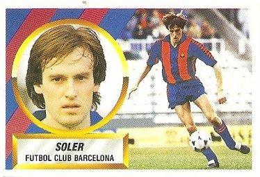 4. Liga 88-89. Soler (F.C. Barcelona). Ediciones Este.