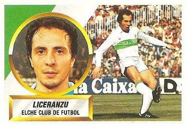 Liga 88-89. Liceranzu (Elche C.F.). Ediciones Este.