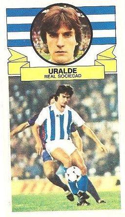 Liga 85-86. Uralde (Real Sociedad). Ediciones Este.