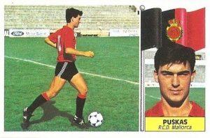 Liga 86-87. Puskas (R.C.D. Mallorca). Ediciones Este.