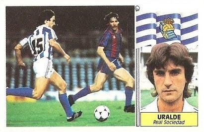 Liga 86-87. Uralde (Real Sociedad). Ediciones Este.