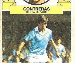 Liga 85-86. Contreras (Real Club Celta de Vigo). Ediciones Este.