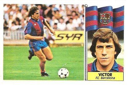 Liga 86-87. Víctor ( F.C. Barcelona). Ediciones Este.