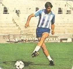 Liga 82-83. Rojas (C.D. Málaga). Ediciones Este.
