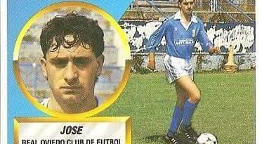 Liga 88-89. Jose (Real Oviedo). Ediciones Este.