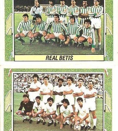 Liga 84-85. Betis-Sevilla