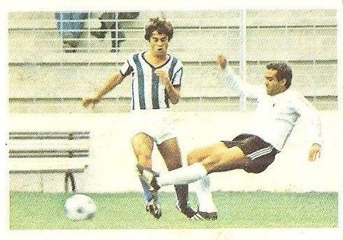 Liga 80-81. López Ufarte (Real Sociedad) Futbolistas en Acción Nº 40. Ediciones Este.