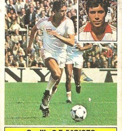 Liga 81-82. Moises (Sevilla C.F.). Ediciones Este.