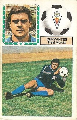 Liga 83-84. Cervantes (Real Murcia), Ediciones Este.