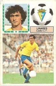 Liga 83-84. Linares (Cadiz C.F.). Ediciones Este.