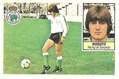 Liga 84-85. Ruisoto (Racing de Santander). Ediciones Este.