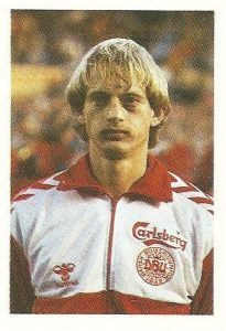 Eurocopa 1984. Busk (Dinamarca). Editorial Fans Colección.