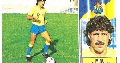 Liga 86-87. Mini (U.D. Las Palmas). Ediciones Este.