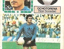 Liga 83-84. Ochotorena (Real Sociedad). Ediciones Este.