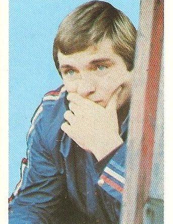 Eurocopa 1984. Susic (Yugoslavia). Editorial Fans Colección.