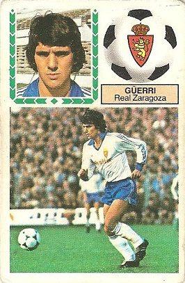 Liga 83-84. Güerri (Real Zaragoza). Ediciones Este.