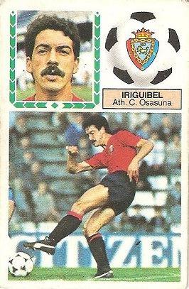 Liga 83-84. Iriguibel (Club Atlético Osasuna). Ediciones Este.