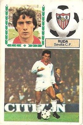 Liga 83-84. Ruda (Sevilla C.F.). Ediciones Este.