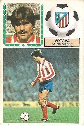 Liga 83-84. Votava (Atlético de Madrid). Ediciones Este.