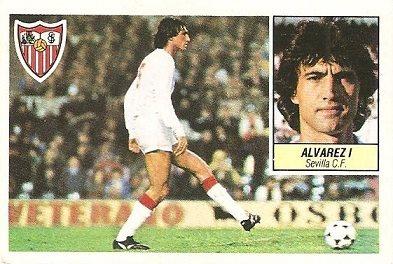 Liga 84-85. Álvarez I (Sevilla C.F.). Ediciones Este.