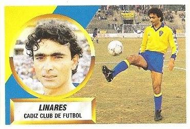 Liga 88-89. Linares (Cádiz C.F.). Ediciones Este.