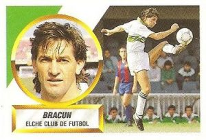 Liga 88-89. Bracun (Elche C.F.). Ediciones Este.