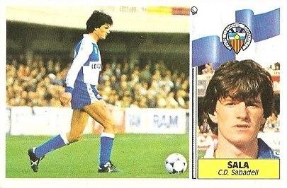 Liga 86-87. Sala (Centro de Deportes Sabadell). Ediciones Este.
