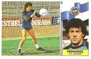 Liga 86-87. Fernández (Centro de Deportes Sabadell). Ediciones Este.
