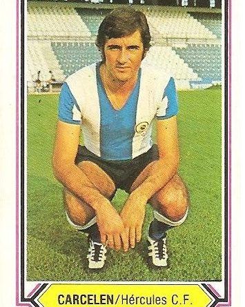 Liga 80-81. Carcelén (Hércules C. F.). Ediciones Este.