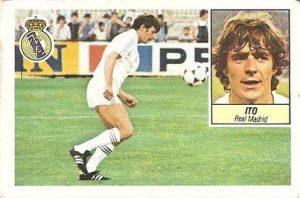 Liga 84-85. Ito (Real Madrid). Ediciones Este.