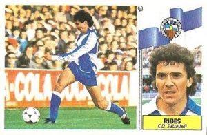 Liga 86-87. Ribes (Centro de Deportes Sabadell). Ediciones Este.