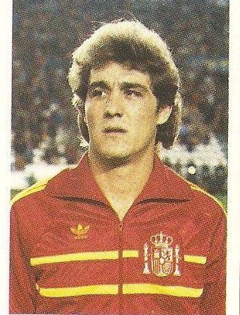 Eurocopa 1984. Rincón (España) Editorial Fans Colección.