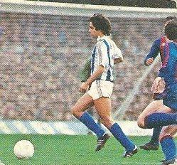 Liga 82-83. López Ufarte (Real Sociedad). Ediciones Este.