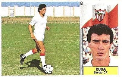 Liga 86-87. Ruda (Sevilla C.F.). Ediciones Este.