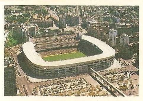 Trideporte 84. Estadio Santiago Bernabeu (Real Madrid). Editorial Fher.