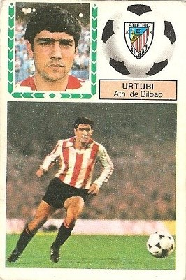 Liga 83-84. Urtubi (Ath. Bilbao). Ediciones Este.