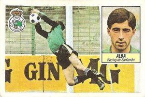 Liga 84-85. Alba (Racing de Santander). Ediciones Este.