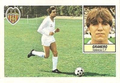Liga 84-85. Granero (Valencia C.F.). Ediciones Este.
