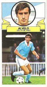 Liga 85-86. Alvelo (Real Club Celta de Vigo). Ediciones Este.