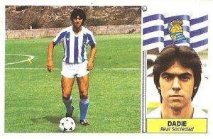 Liga 86-87. Dadie (Real Sociedad). Ediciones Este.