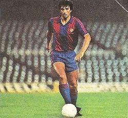 Liga 82-83. Alexanco (F.C. Barcelona). Ediciones Este.