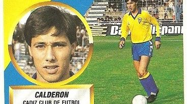 Liga 88-89. Calderón (Cádiz C.F.). Ediciones Este.