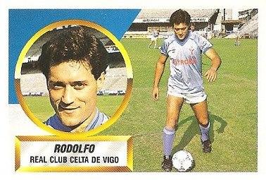 Liga 88-89. Rodolfo (Real Club Celta de Vigo). Ediciones Este.