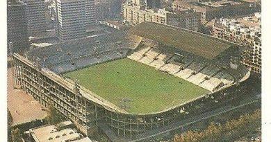 Trideporte 84. Estadio Luis Casanova (Valencia C.F.). Editorial Fher.