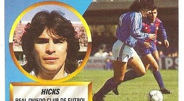 Liga 88-89. Hicks (Real Oviedo). Ediciones Este.