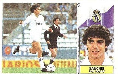 Liga 86-87. Sanchís (Real Madrid). Ediciones Este.