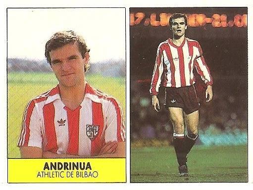 Liga 87-88. Andrinua (Ath. Bilbao). Ediciones Festival.
