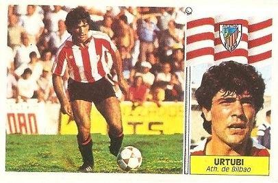 Liga 86-87. Urtubi (Ath. Bilbao). Ediciones Este.